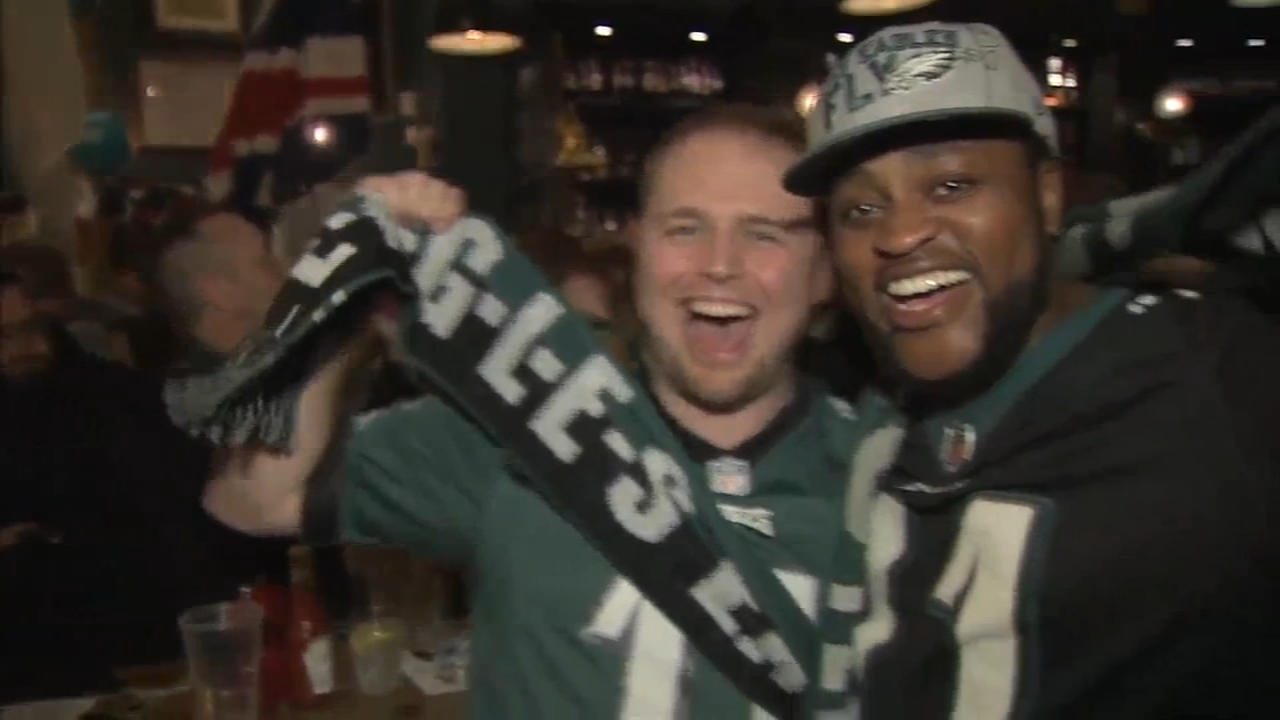 With Eagles in London, fans ready for a morning party. Gray Hall previews the festivities during Action News at 4:30pm on October 26, 2018.