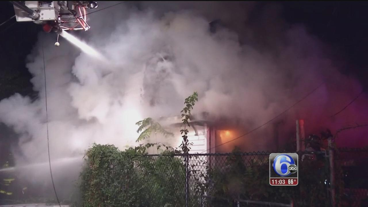 VIDEO: Hoarders home fire