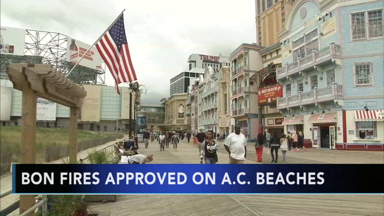 Atlantic City ordinance to allow beach bonfires. Gray Hall reports during Action News at 7 a.m. on October 27, 2018.