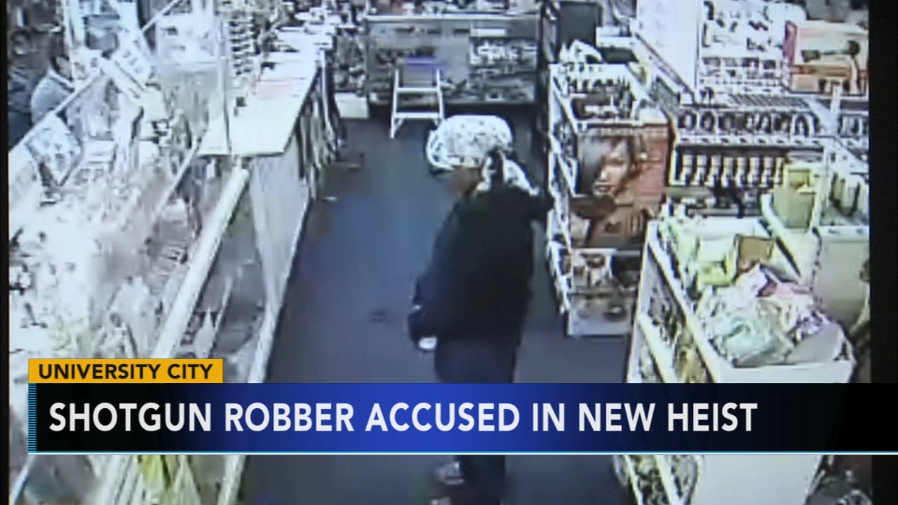 Police search for woman allegedly responsible for multiple armed robberies in University City. Gray Hall reports during Action News at 6 a.m. on October 27, 2018.