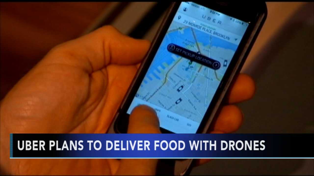 Uber Eats plans to begin delivering food by drones. Christie Ileto reports during Action News at 6 a.m. on October 27, 2018.