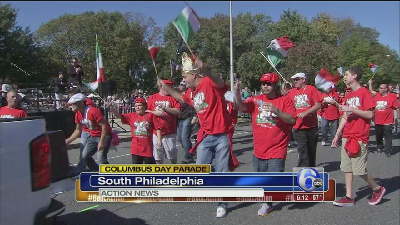 VIDEO: Columbus Day Parade