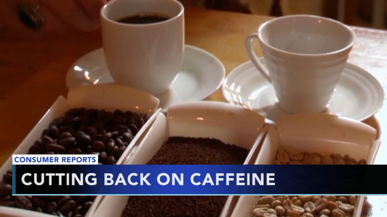 Tips to cut down on caffeine throughout the day - Ali Gorman reports during Action News at 5pm on October 29, 2018.