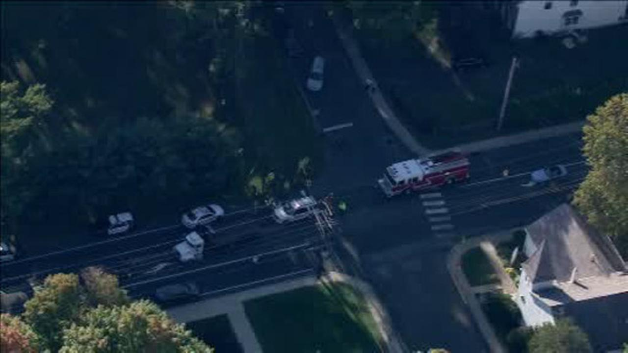 Fire chief suffers minor injuries in Bucks County accident