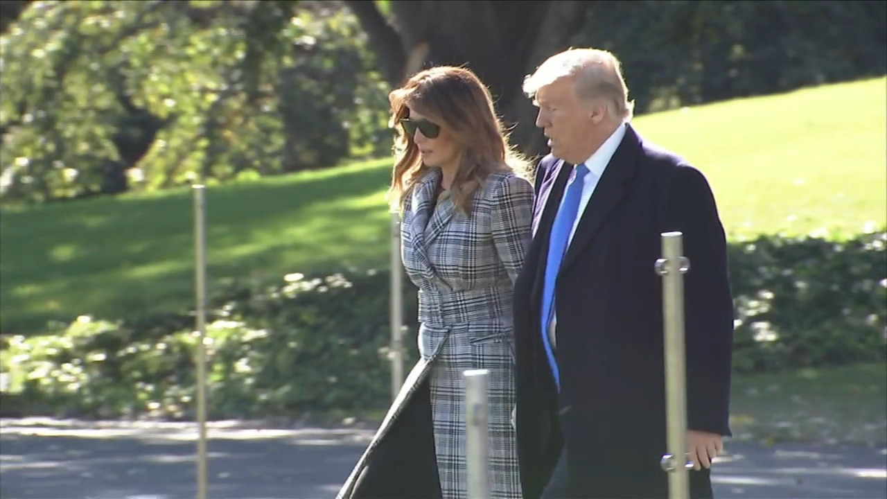 Trump in Pittsburgh to mourn shooting victims. Maggie Rulli reports during Action News at 4 p.m. on October 30, 2018.