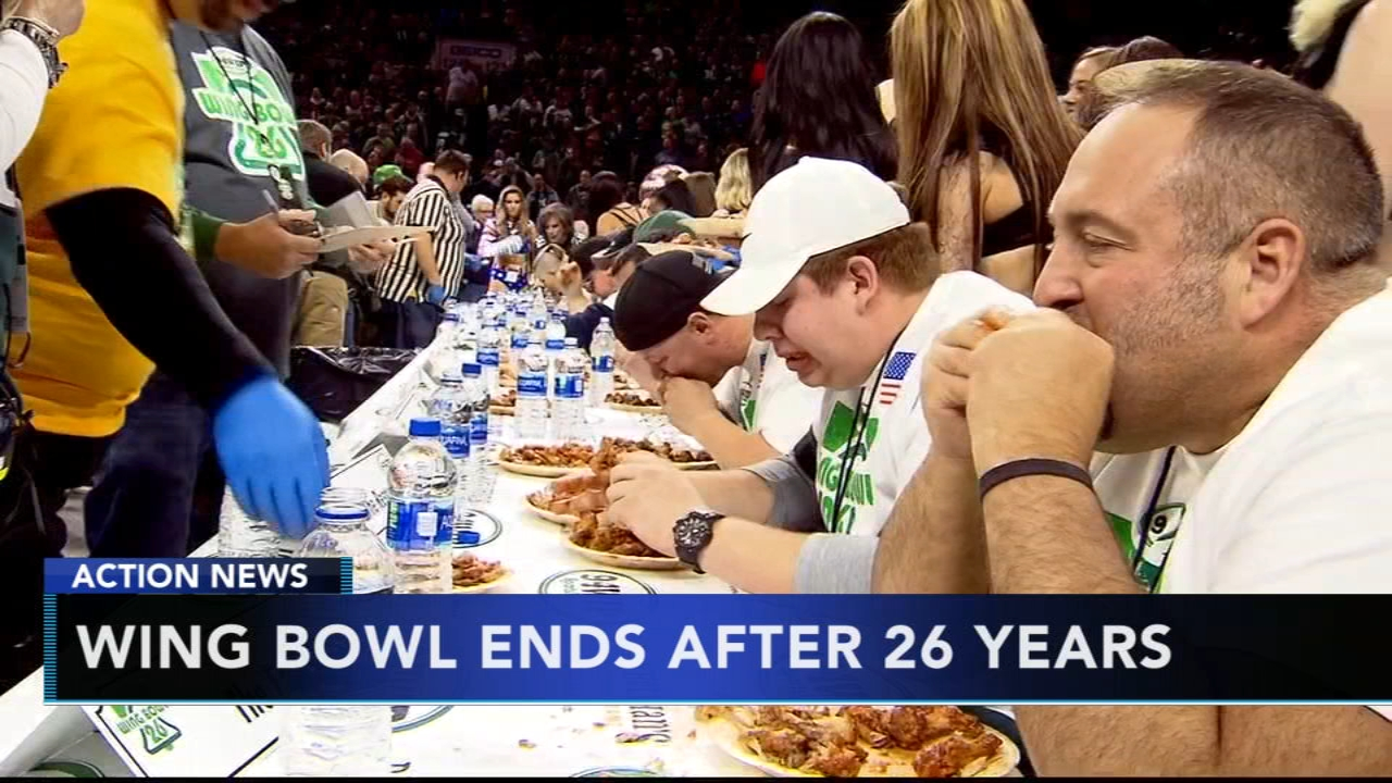 Wing Bowl ends after 26 years. Rick Williams reports during Action News at Noon on October 30, 2018.