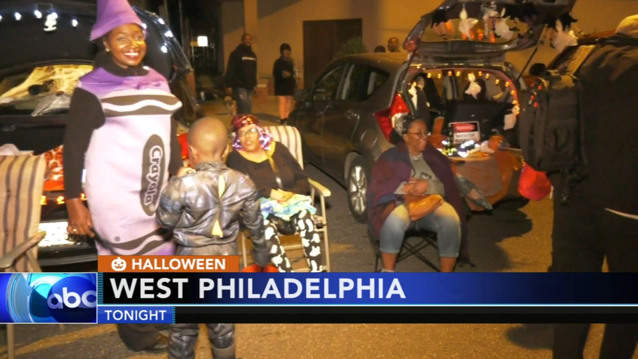 Kids trick-or-treat at West Philadelphia church. Watch this report from Action News at 10pm on November 2, 2018.