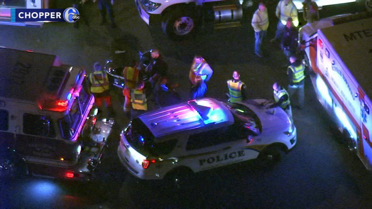 1 person injured in motorcycle crash in Gloucester County. Jim Gardner reports during Action News at 11 p.m. on October 31, 2018.