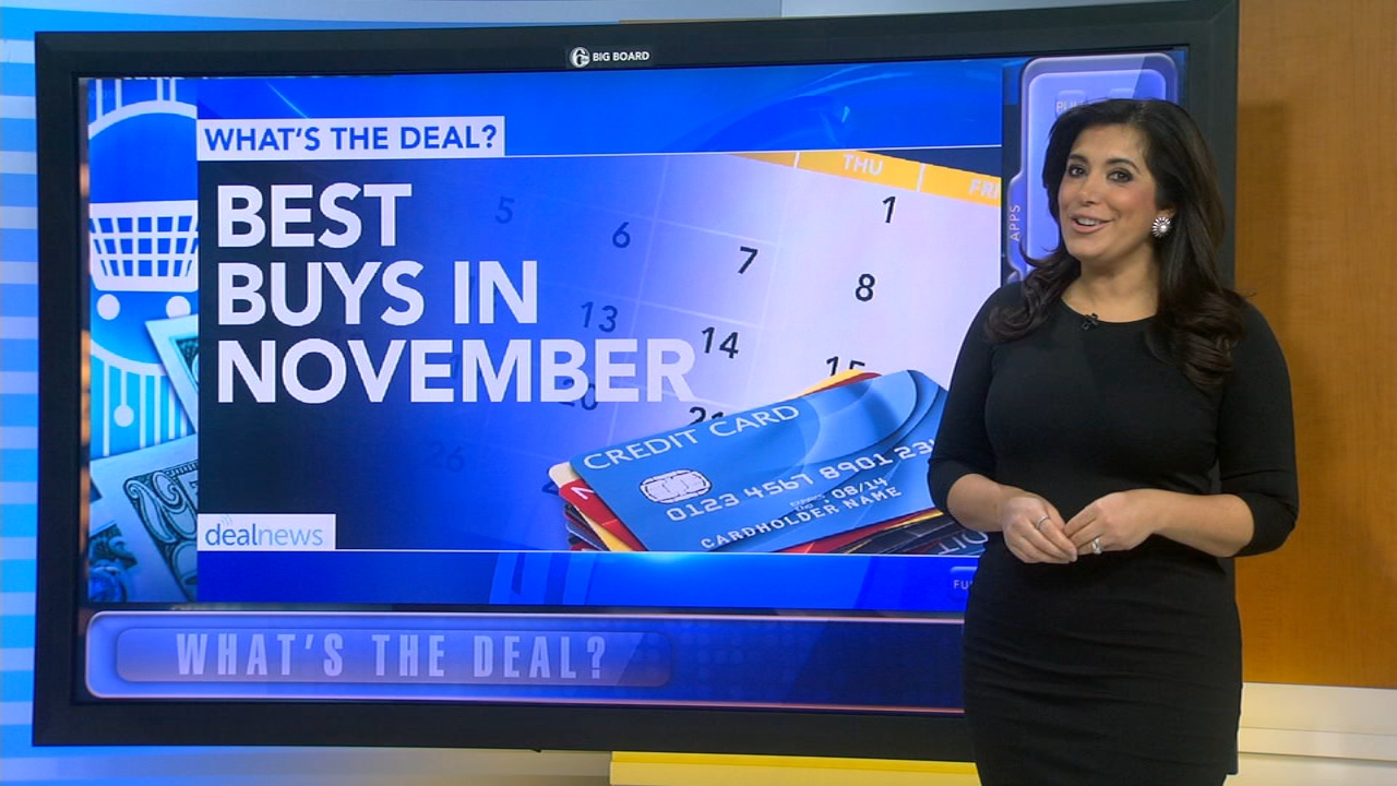 Whats the Deal: Best buys in November - Alicia Vitarelli reports during Action News at 4:30pm on October 31, 2018.