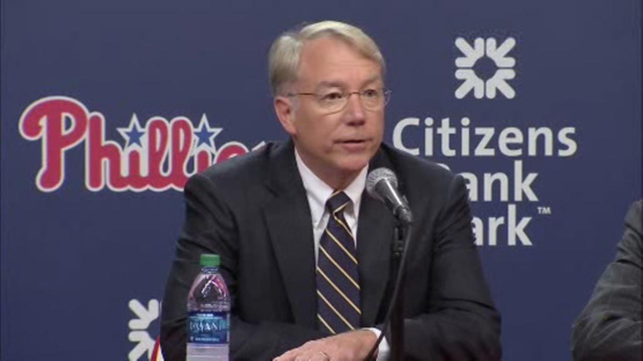 Andy MacPhail named president of Philadelphia Phillies