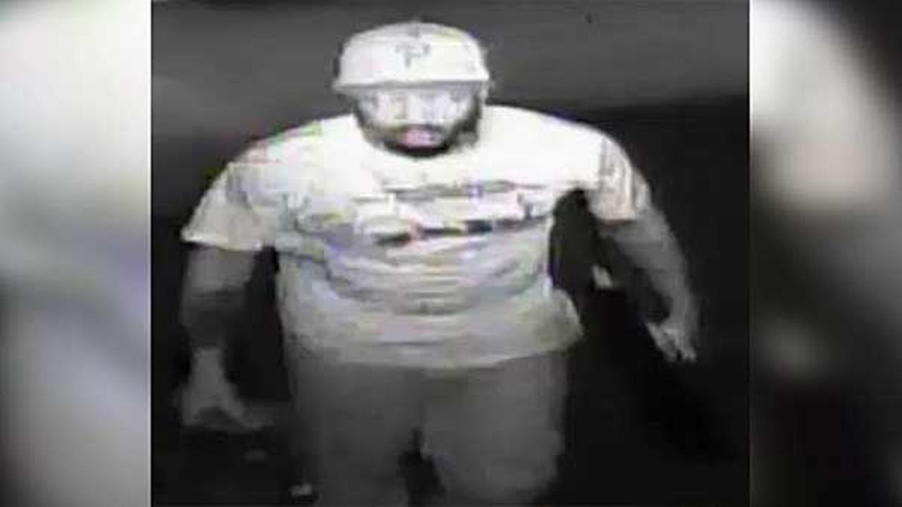 Police are searching for a burglar who broke into a church in the Kingsessing section of South Philadelphia over the summer.