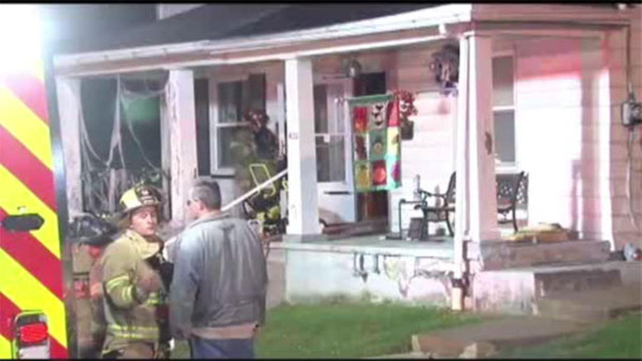 Flames force residents from Northampton Co. home