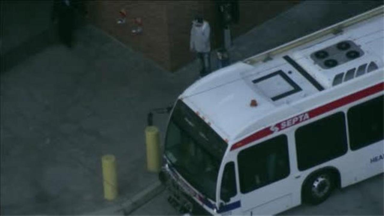 Three people are injured after an accident involving a SEPTA bus and a pedestrian.