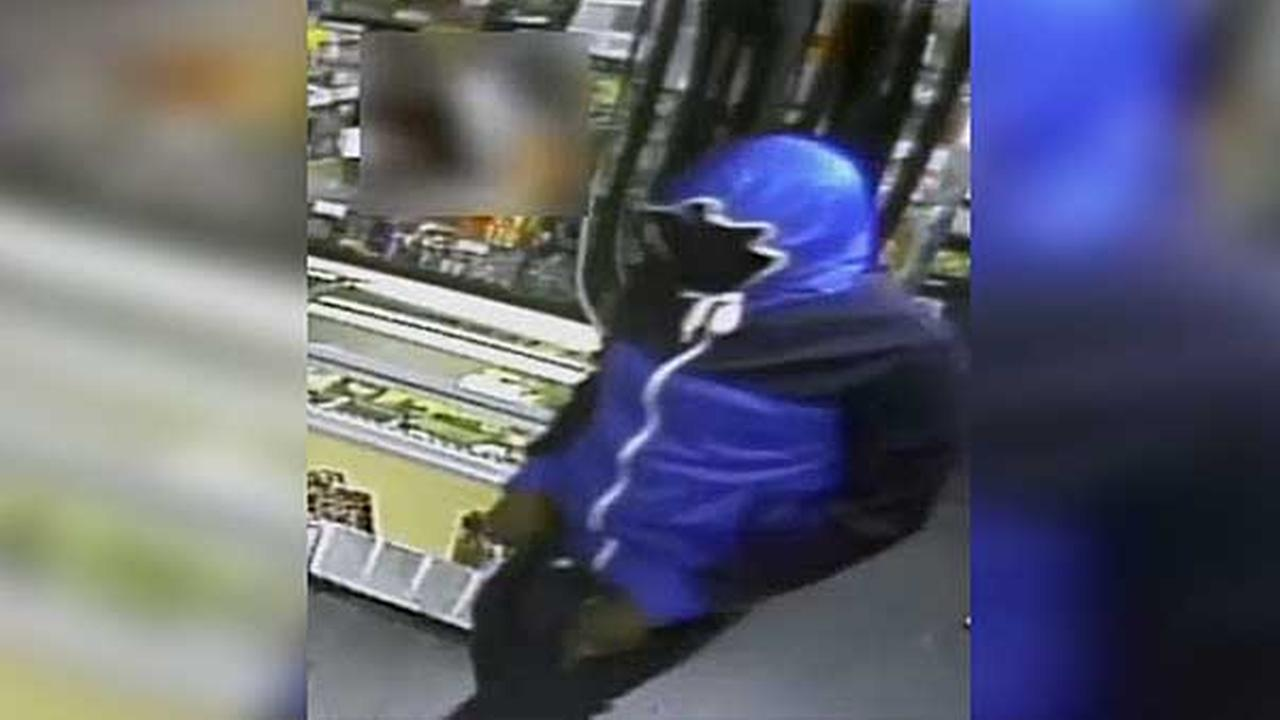 Philadelphia police are searching for 4 armed suspects who robbed a grocery store in the citys Kingsessing section.