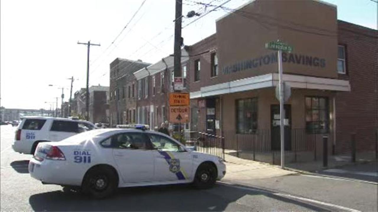 Police are searching for a man wanted in connection with robbing the Washington Savings Bank in the citys Port Richmond section.