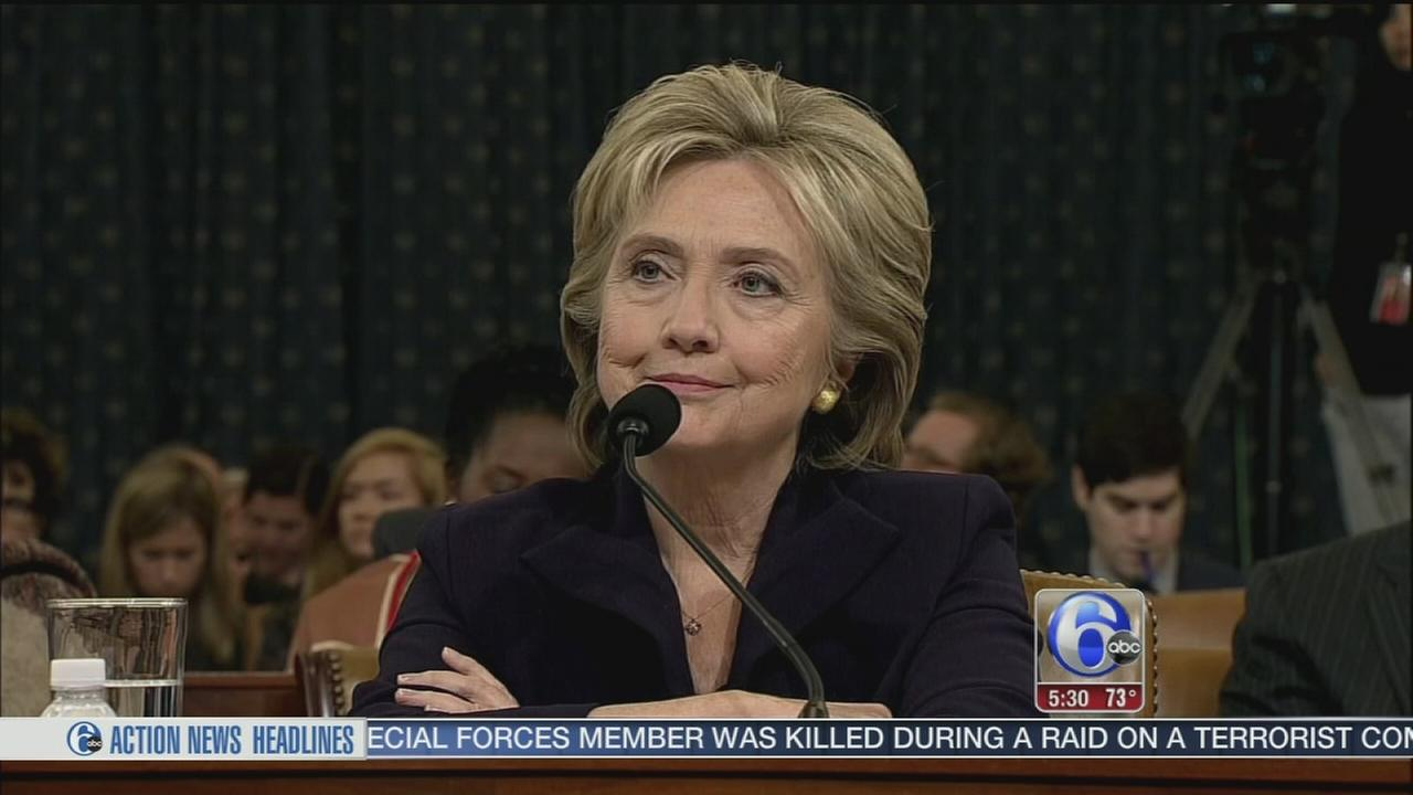 VIDEO: Hillary in the hot seat