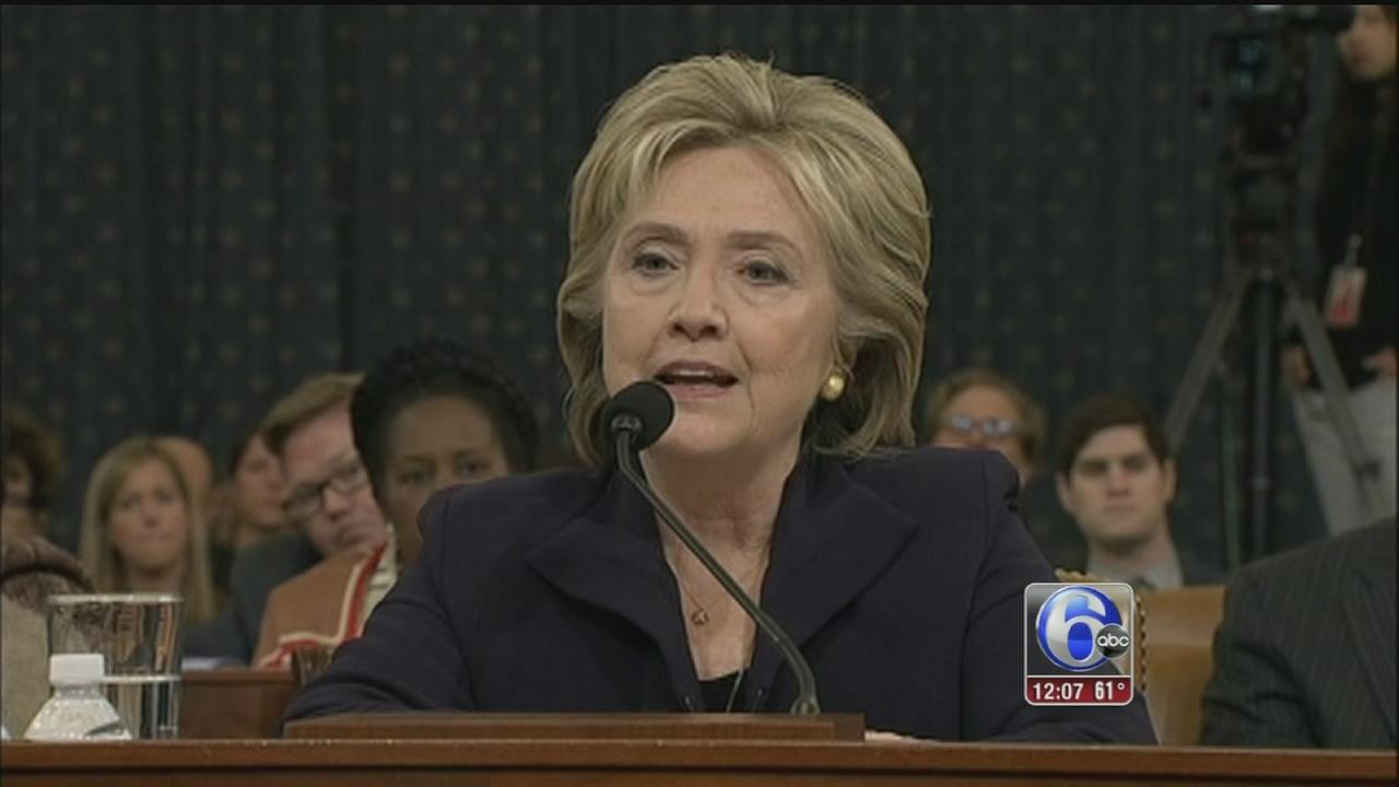 VIDEO: Clinton testifies for 11 hours on Benghazi