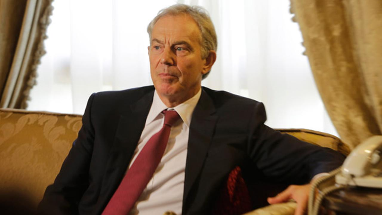 Wednesday, Aug. 6, 2014 file photo of former British Prime Minister Tony Blair.