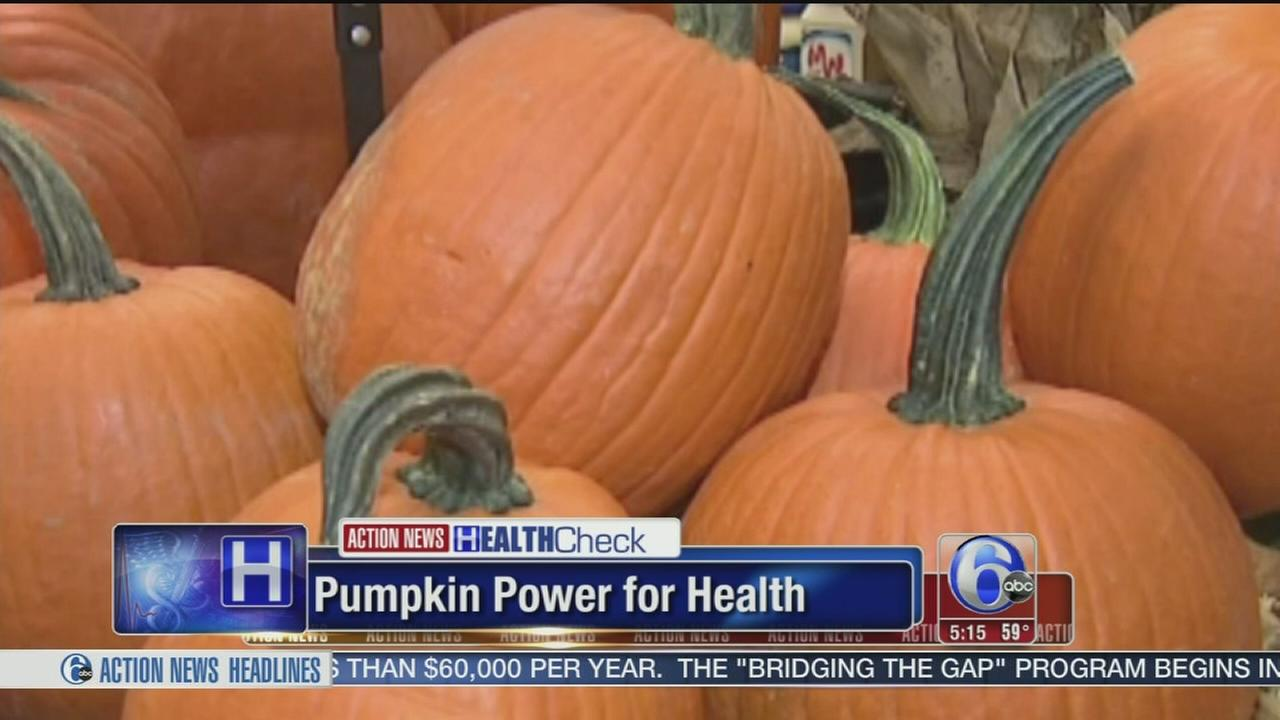 VIDEO: Health benefits of pumpkins