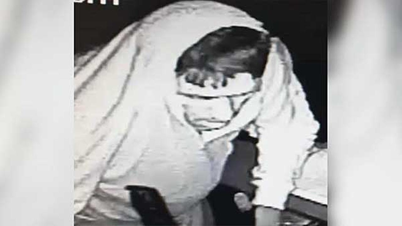 Philadelphia police are looking for a suspect who burglarized a business in the citys Bridesburg section.