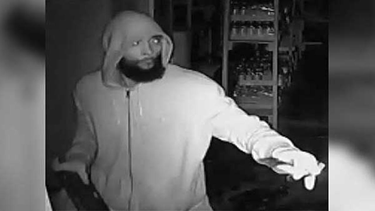 Police are searching for a burglar who broke into a food market in West Philadelphia.