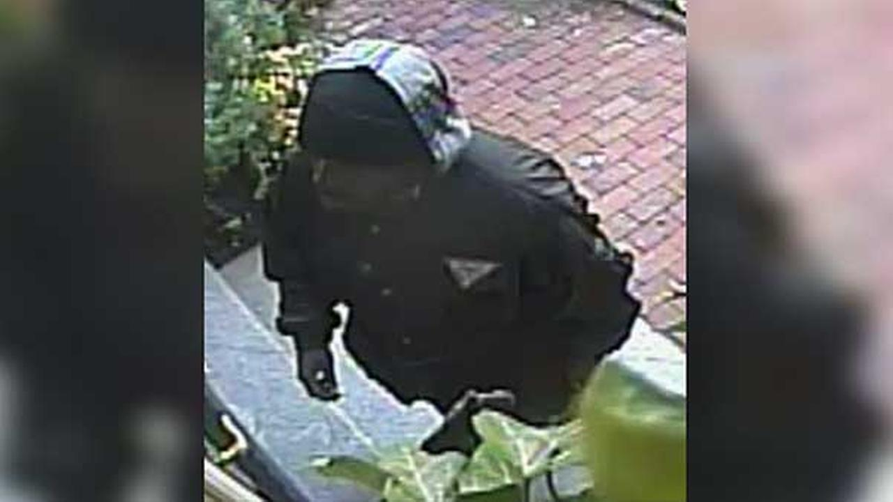 Philadelphia police are searching for a suspect who robbed an elderly man during a home invasion in the citys Society Hill section.