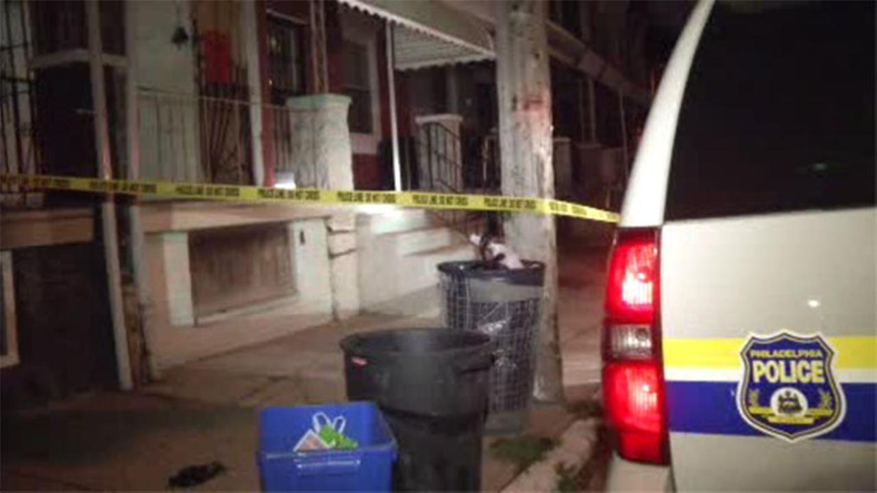 Man found shot on porch of abandoned house in Parkside