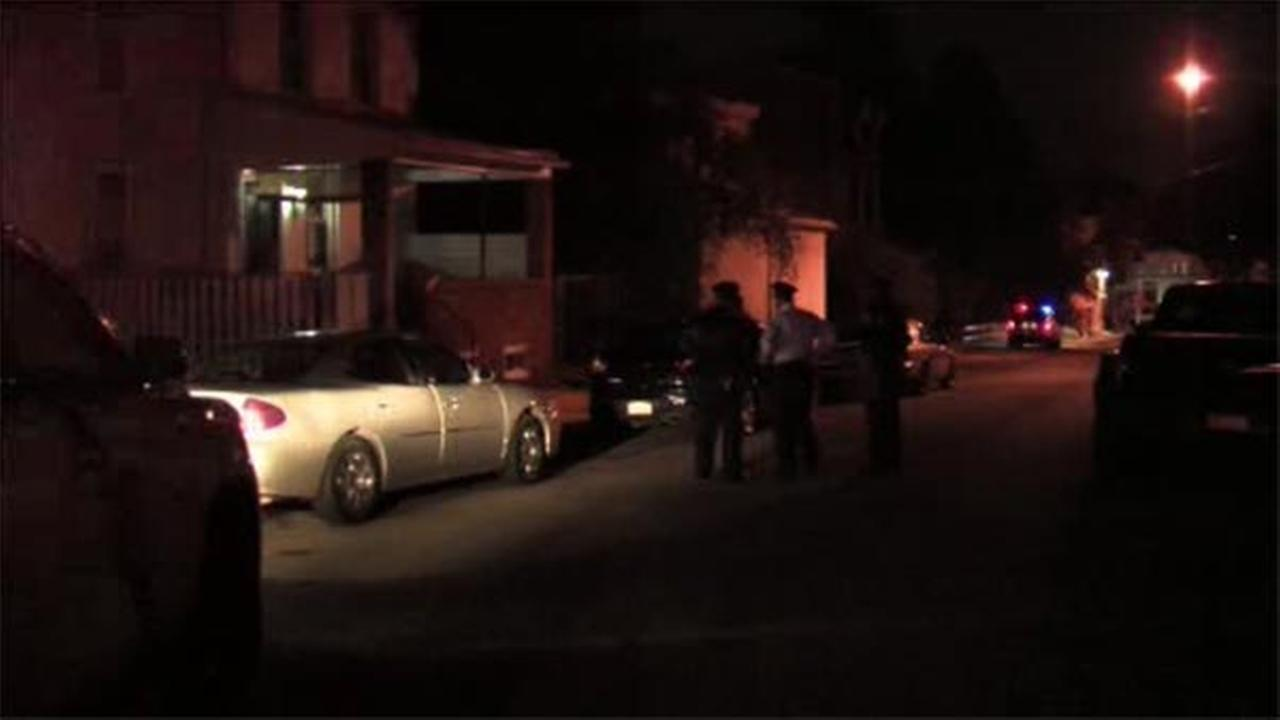 A man is hospitalized after shots were fired Saturday night in Germantown.