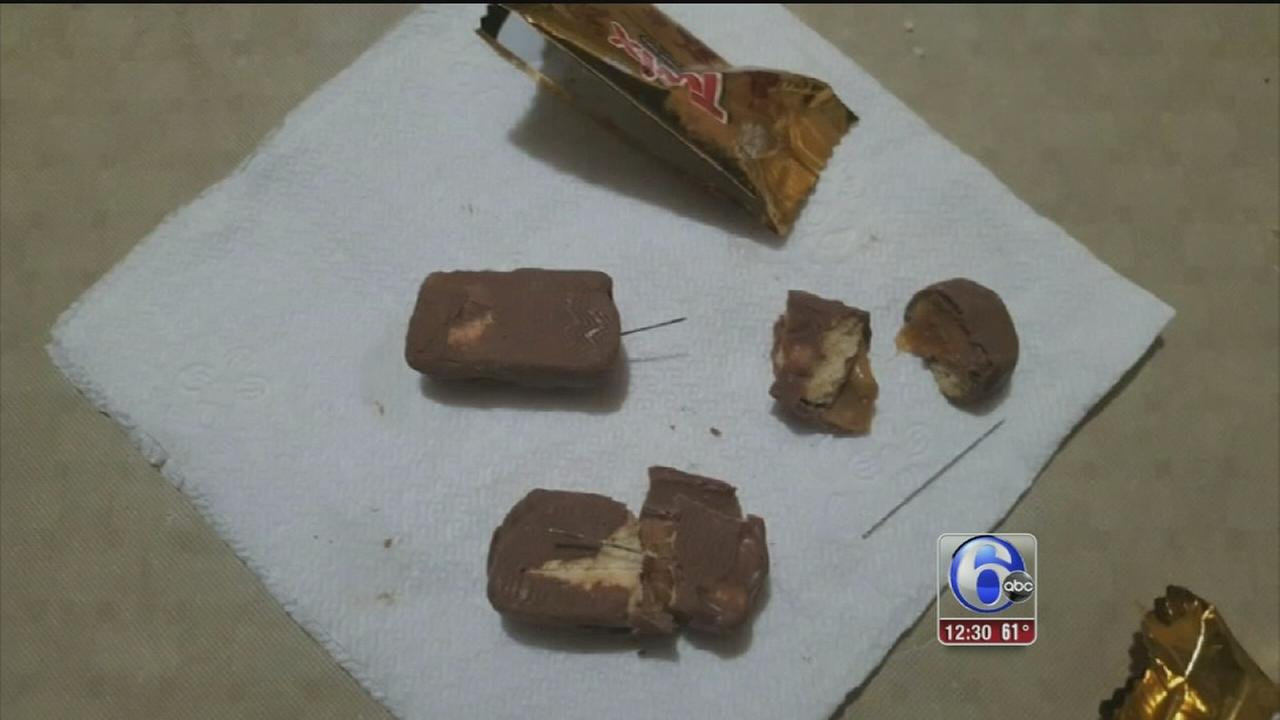 VIDEO: Needles reportedly found in candy