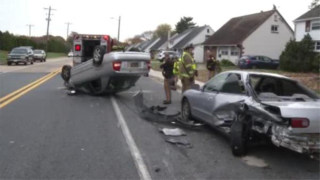 A 32-year-old woman is facing multiple charges after a car accident in New Castle County.