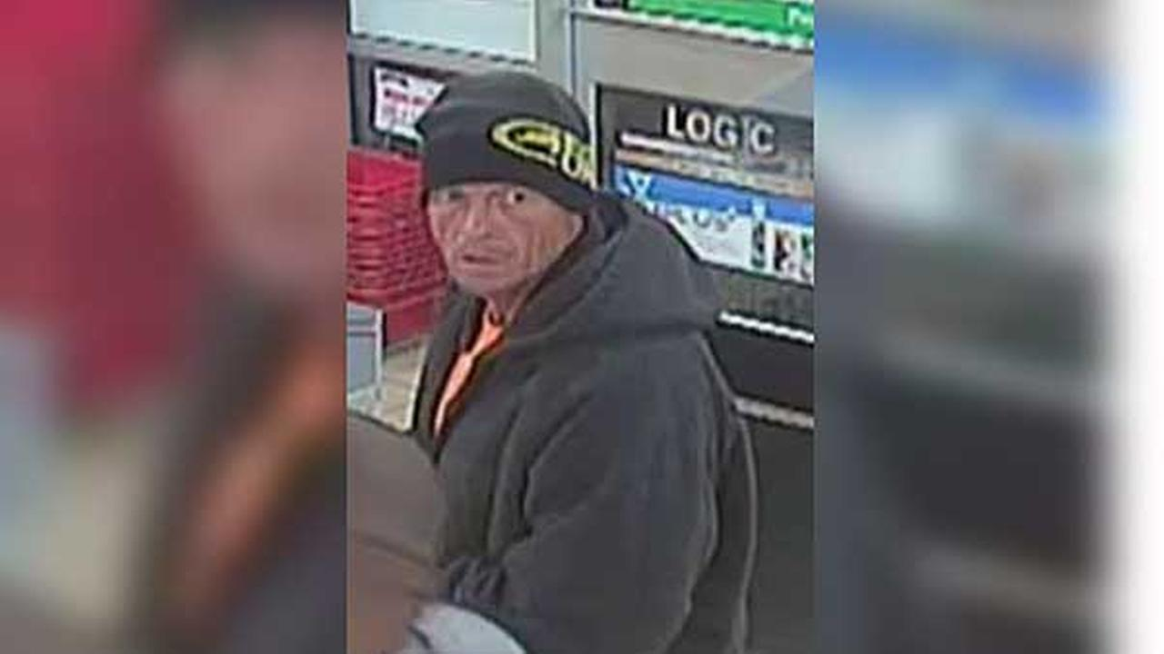 Philadelphia police are searching for a suspect who punched a 7-Eleven store clerk during a robbery in the citys Port Richmond section.