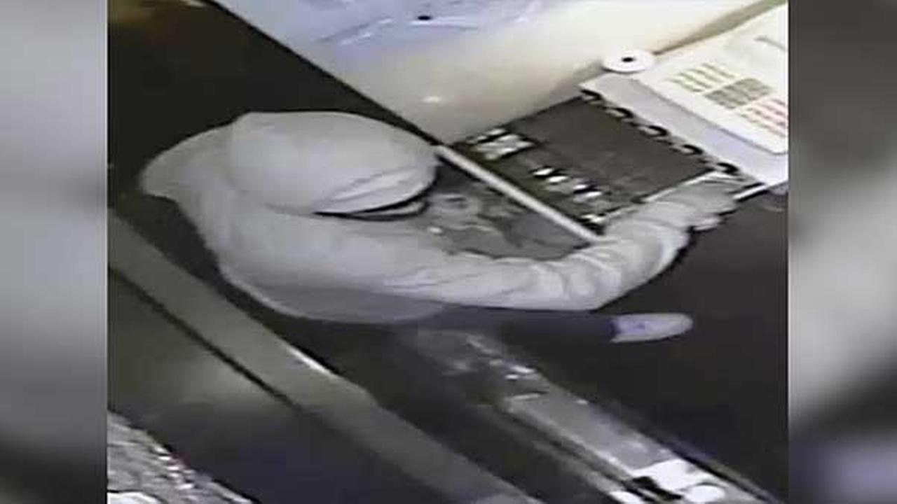 Philadelphia police are searching for two armed suspects who pistol whipped a customer during a robbery inside a bar in the citys Olney section.