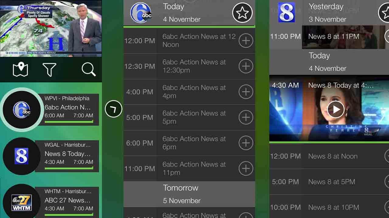 Get live and on-demand Action News and more with the NewsON app