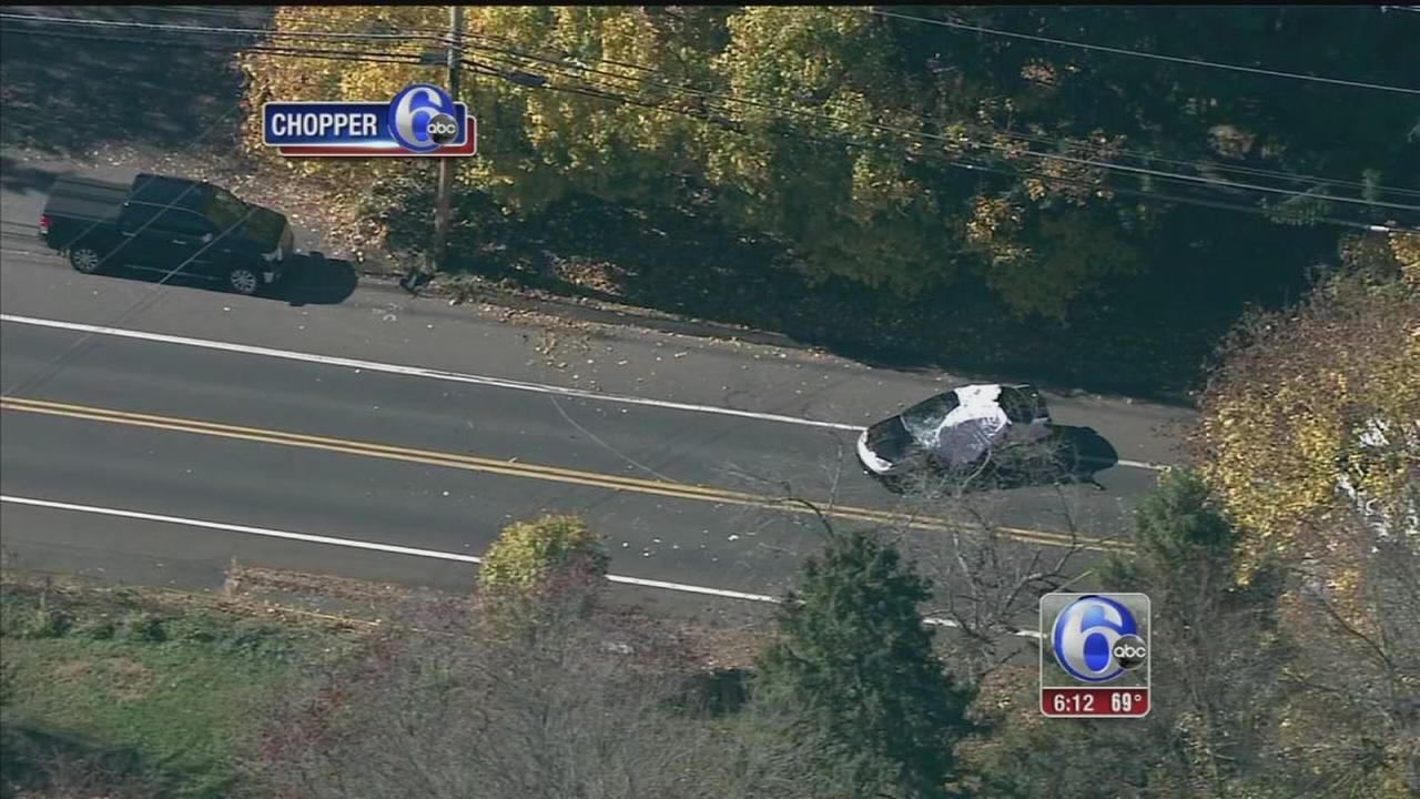 VIDEO: Bucks County accident