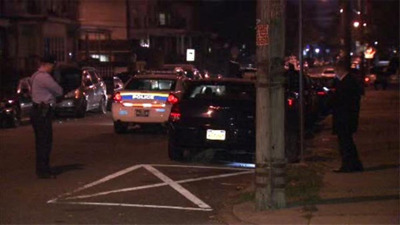 Philadelphia police are investigating a double shooting in Juniata Park.