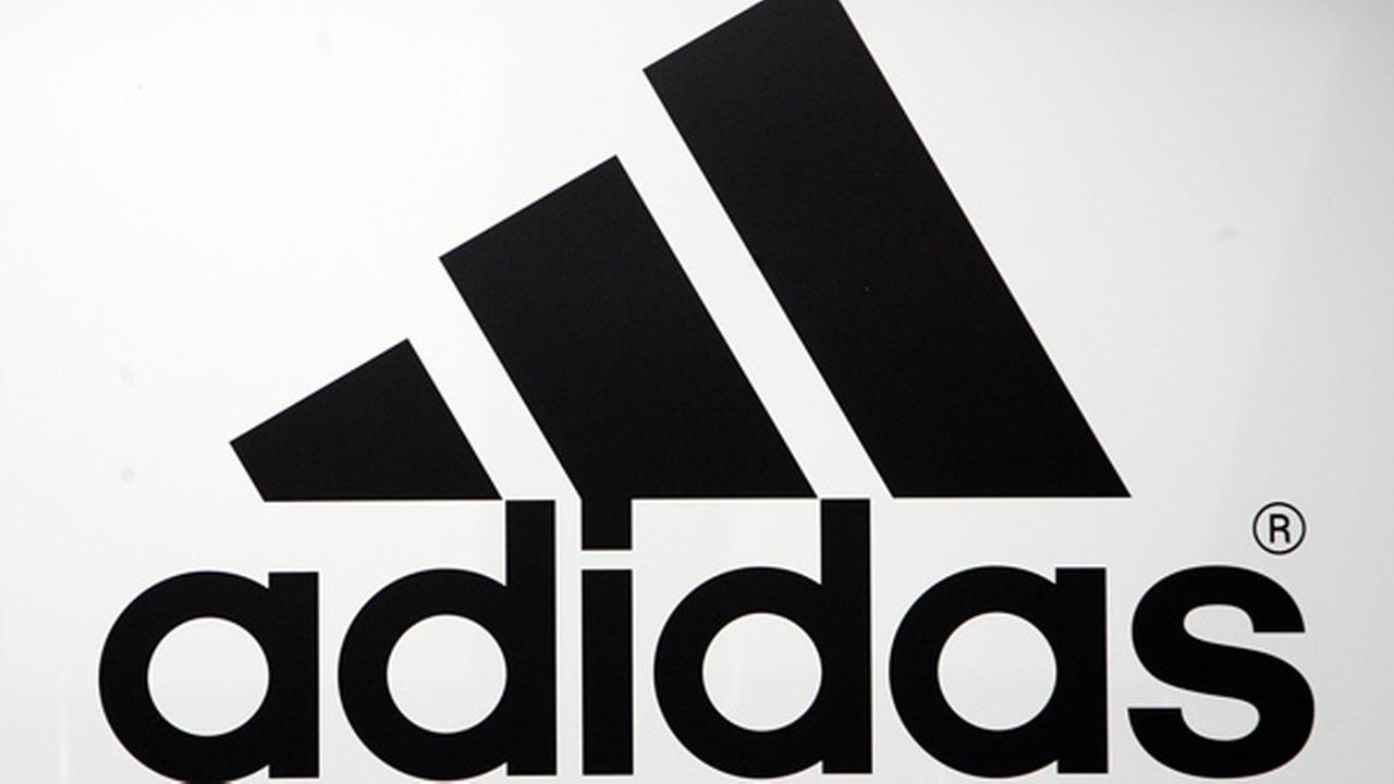 FILE: The companys logo is seen during the annual balance news conference of the Adidas Group in Herzogenaurach, southern Germany.