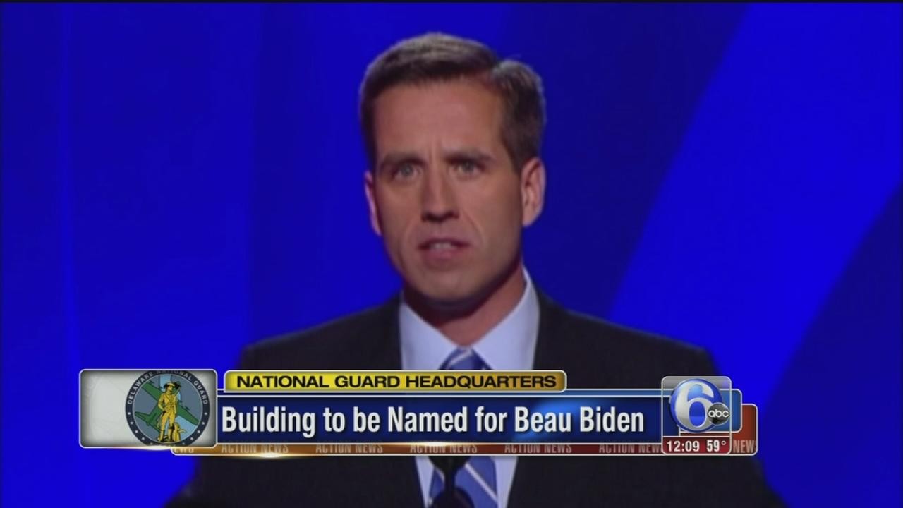 VIDEO: Building to be named after Beau Biden