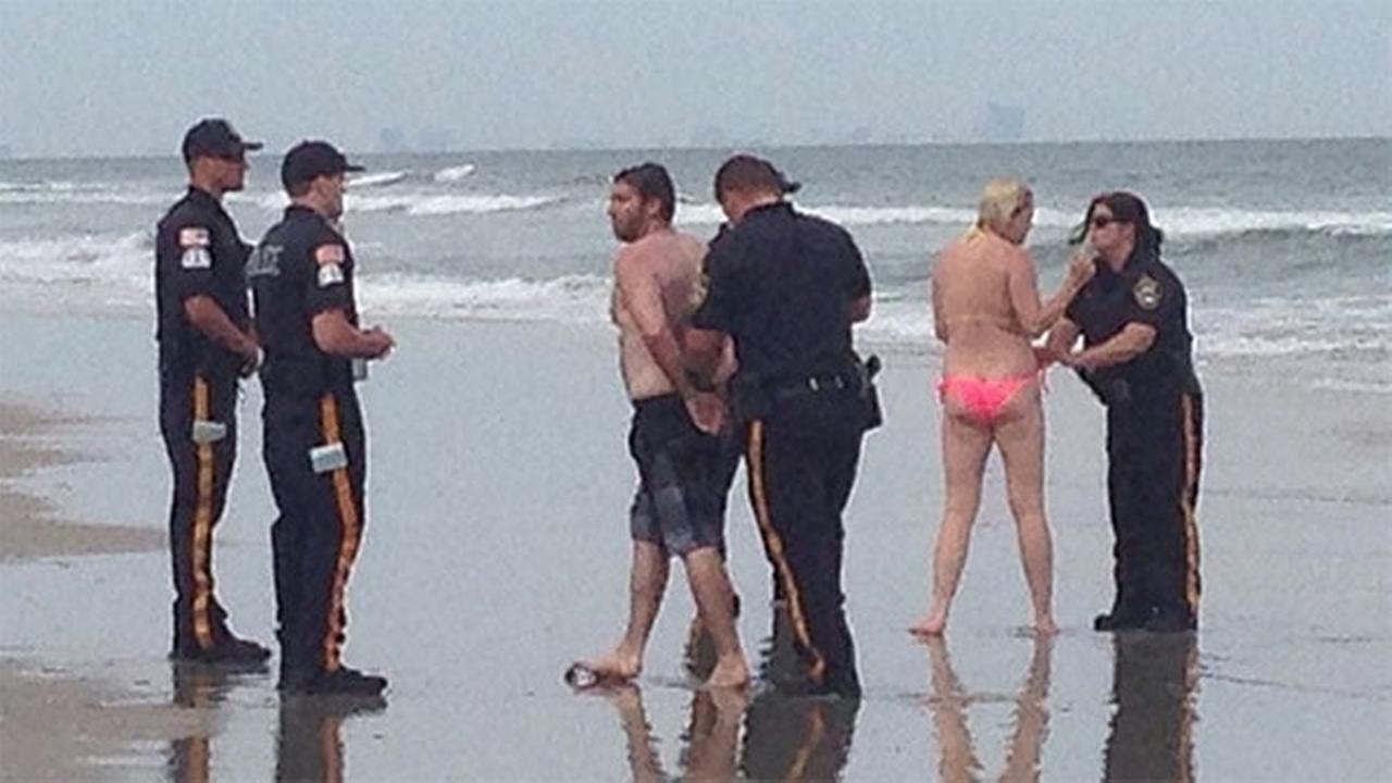 Philly pair accused of having sex in surf in Sea Isle City