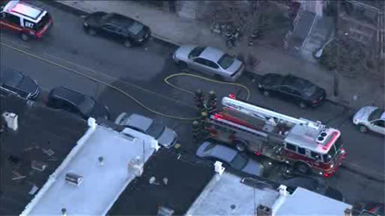 Basement fire under investigation in West Philadelphia