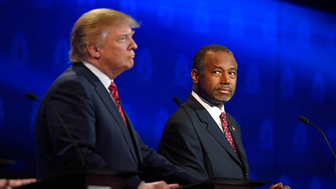 Trump questions Carsons pathological temper, faith