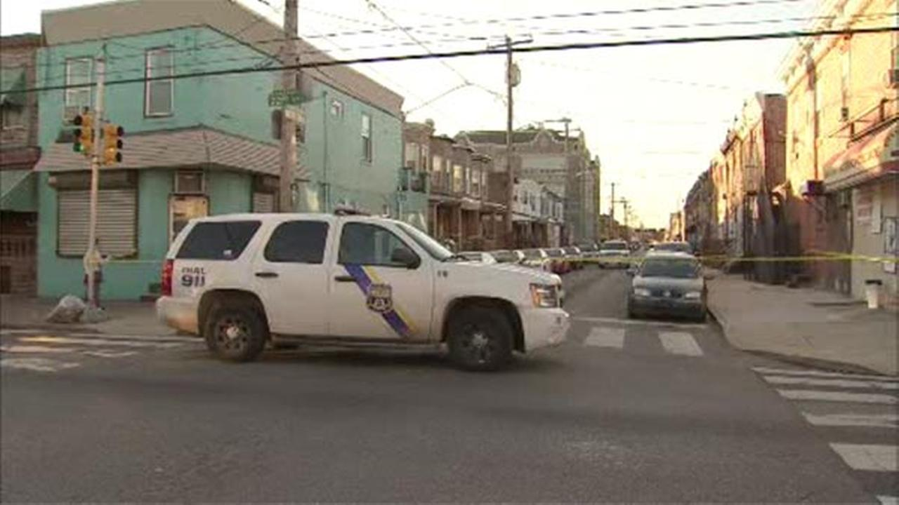 Police are investigating a homicide in South Philadelphia.