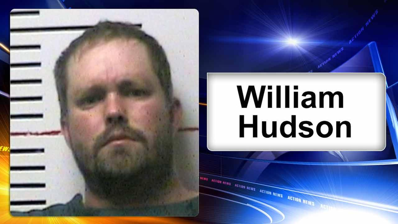 This undated photo provided by the Anderson County Sheriffs Office shows William Hudson.