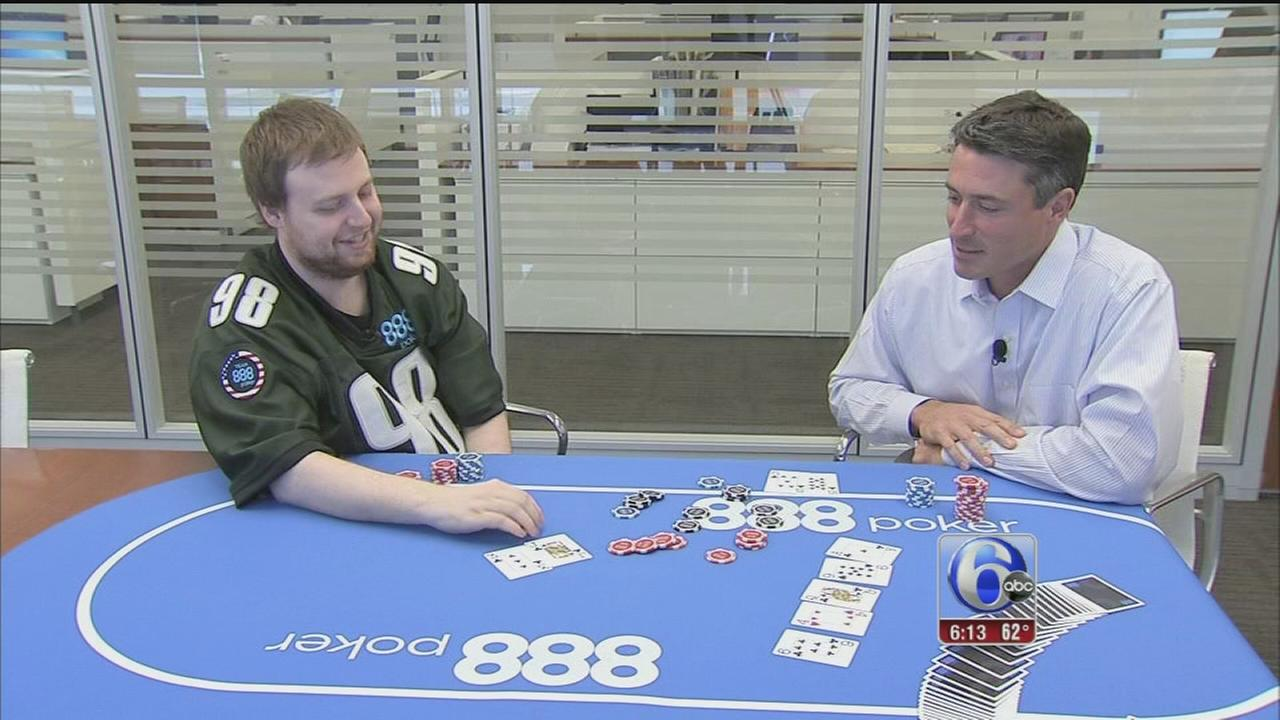 VIDEO: Local WSOP champ visits 6abc
