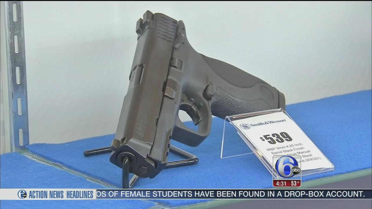 VIDEO: Surge in Pa. gun permits since Paris attacks