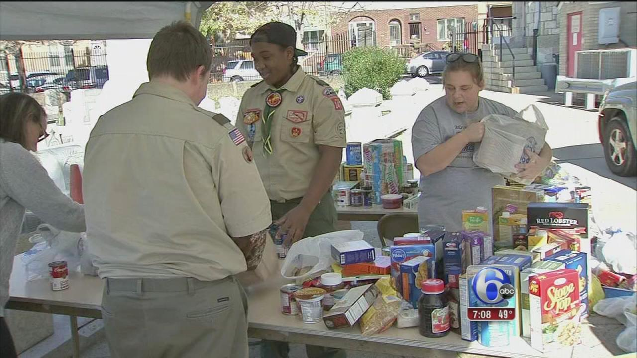 VIDEO: Cub Scout Food Drive