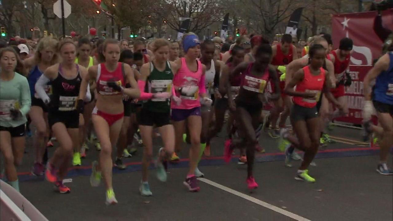 PHOTOS: 2015 Philadelphia Marathon