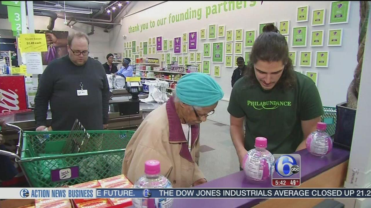 VIDEO: Helping seniors for Thanksgiving