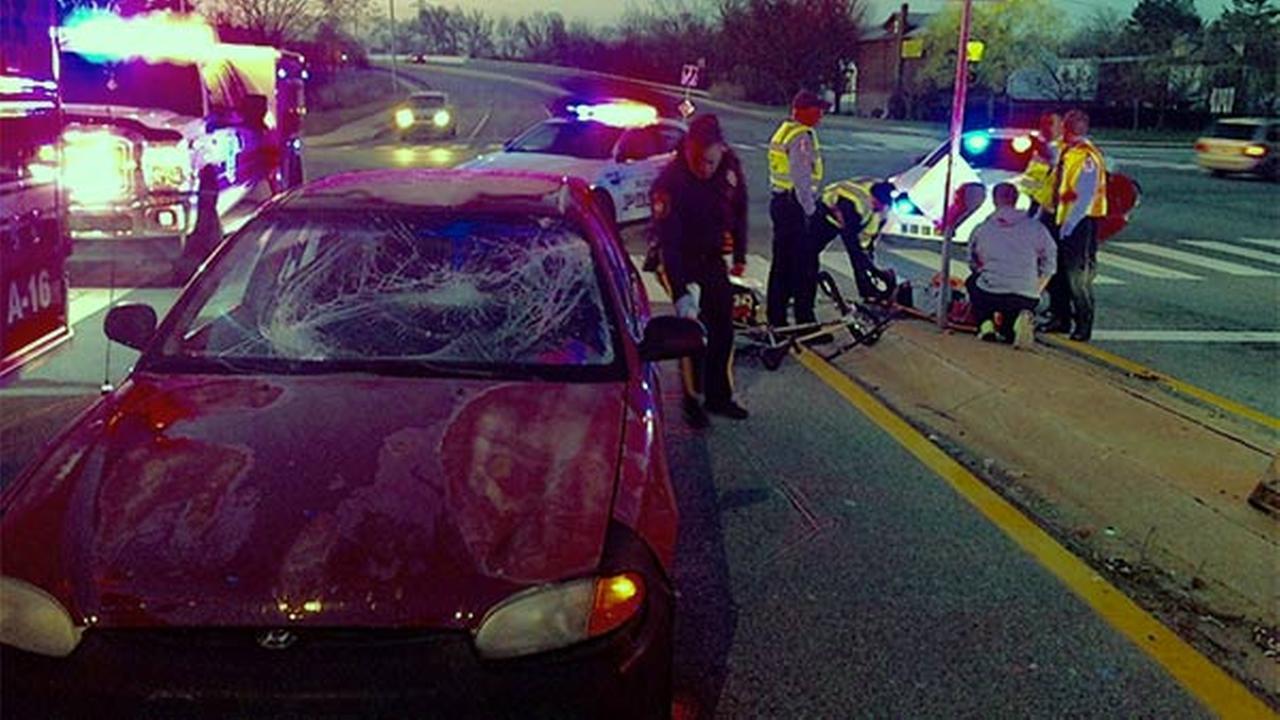 Bicyclist struck, injured in Elsmere, Delaware