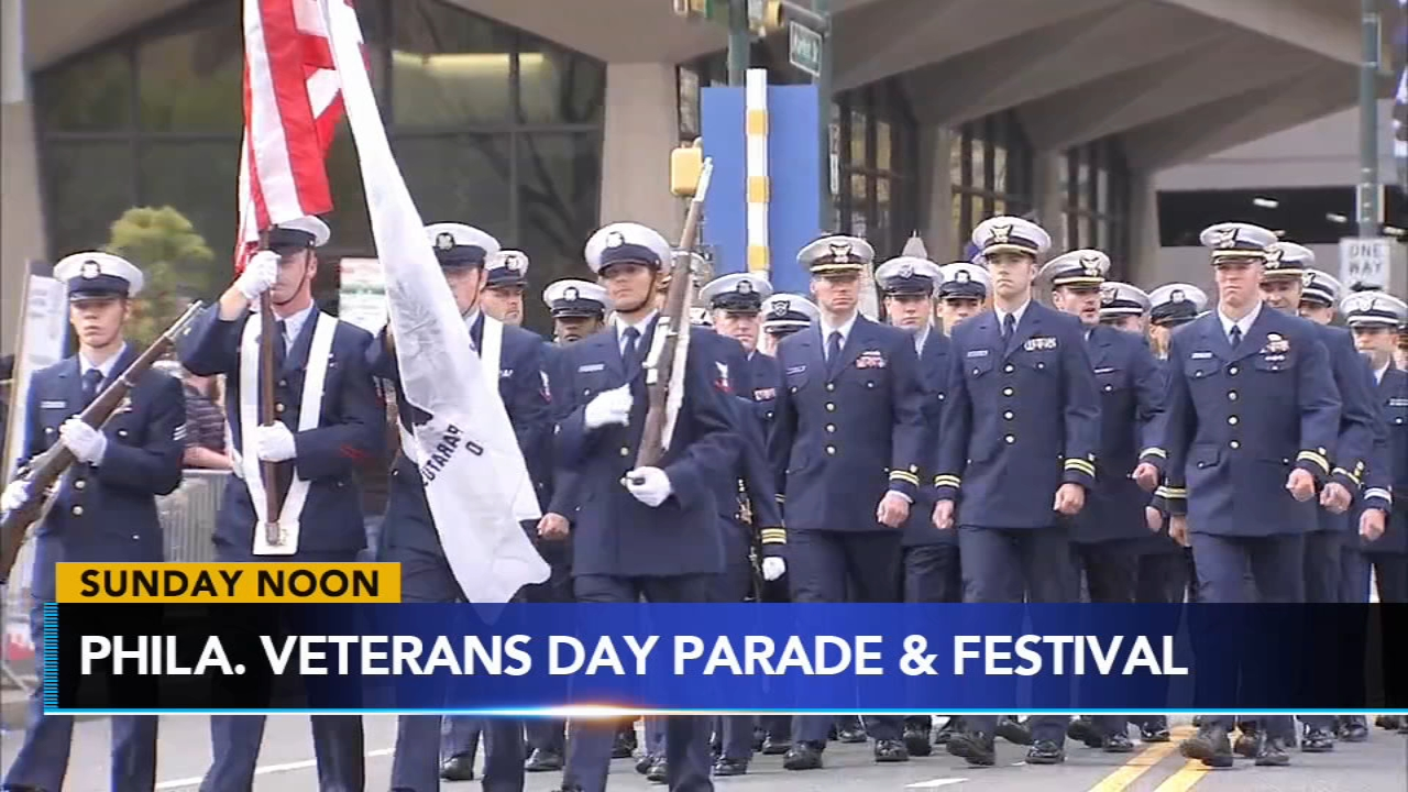 Philly celebrates veterans on Sunday and fall family fun dots the region.