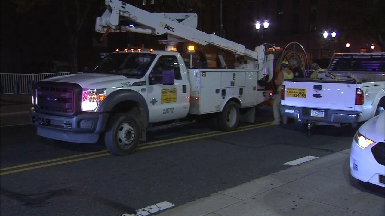 Man tries to steal construction vehicle in front of officer. Matt ODonnell reports during Action News Mornings on November 2, 2018.